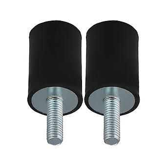 20x30m Gummi Vibration Isolator Halterungen Dämpfer M6x18mm Schraube Pack von 2