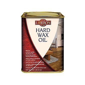 Liberon Hard Wax Oil Clear Satin 1 Litre LIBHWOCS1L