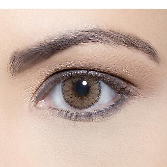 Solotica Natural - Coloured Contact Lenses - Ocre (00.00d) (1 Year)