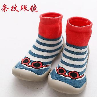 Baby Foot Socks, Kid Rubber Soled's Indoor Boy Footwear, Infant, Toddler, Girl,