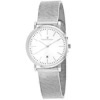 Christian Van Sant Women's Paradigm Silver Dial Watch - CV4223