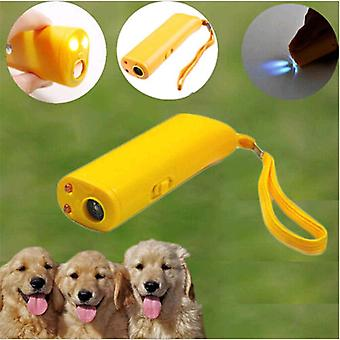 Ultrasonic Dog Training Repeller Control - 3 In 1 Anti Barking, Stop Bark