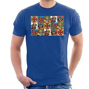 Mestres do Universo Ele Homem Espelhado Montagem Homens 'Camiseta