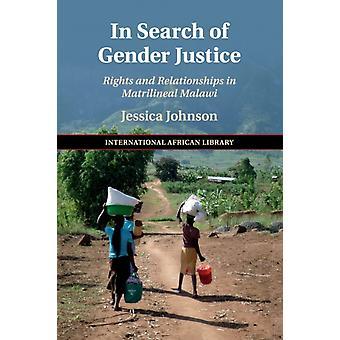 Op zoek naar gender justitie door Johnson & Jessica University of Birmingham