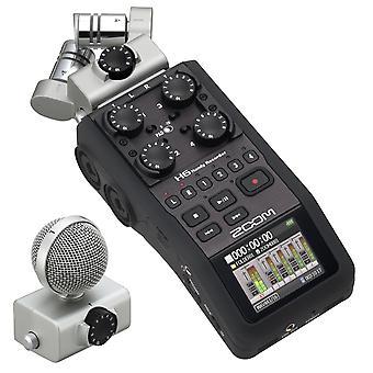 Zoom h6 enregistreur portable à six pistes