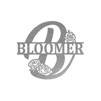 Rose Bloomer Monogram