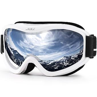 الشتاء سنو الرياضات مع المضادة للضباب عدسة مزدوجة نظارات قناع التزلج