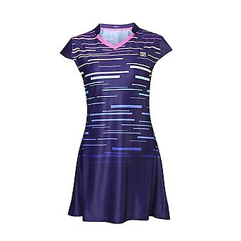 Badminton/tennis Training Sports Dress With Safety Shorts