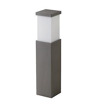 Lumière extérieure de bollard gris de béton avec le diffuseur acrylique IP65, E27