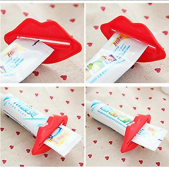 Lip Shape Tandpasta Squeezer