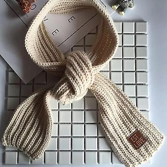 Children's Warm Thickened Small Knitting Korean Scarf For Autumn And Winter