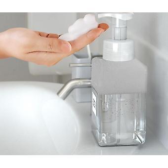Seifenschaum Schäumpumpe leere quadratische Flasche