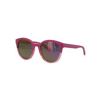 Polaroid PLD6043/S 35J/AI Pink/Polarised Grey-Pink Mirror Sunglasses