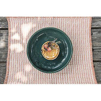Embroidered Guayaba Pink Placemat