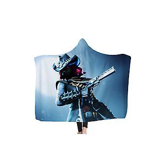 Fortnite Hooded Blanket Cloak for Kids and Adults