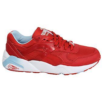 Puma Trinomic R698 Спорт Младший Запуск Красный кружева Тренеры 359711 04 D22
