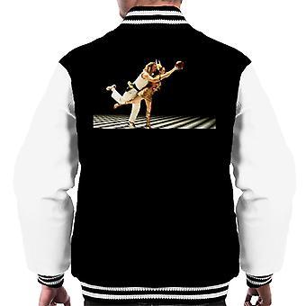 The Big Lebowski The Dude en Maude Bowling Dream Sequence Men's Varsity Jacket