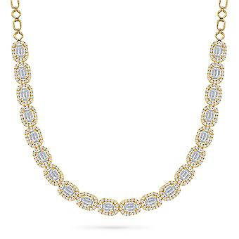 Necklace Shine Petite 18K Gold and Diamonds - Yellow Gold