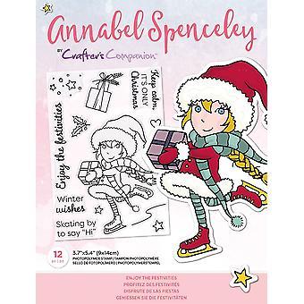 Crafter's Begleiter Annabel Spenceley genießen die Festlichkeiten Briefmarken