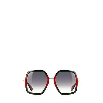 Gucci GG0106S guld kvindelige solbriller