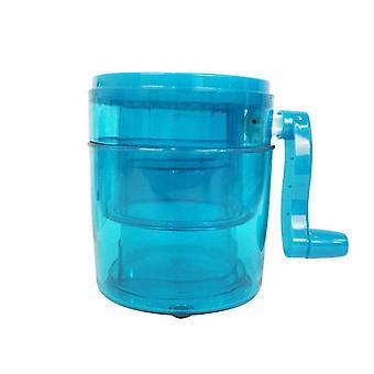 Hot Diy Ice Crusher Manual Multifunction Ice Slush Maker Machine