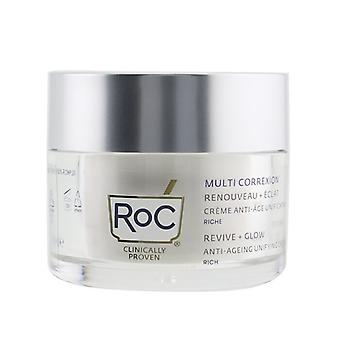 ROC Multi Correxion Revive + Glow Anti-Ageing Unifying Rich Cream 50ml/1.69oz