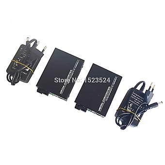 Htb-gs-03 A/b Gigabittikuitu optinen mediamuunnin - 1000mbps yksi tila