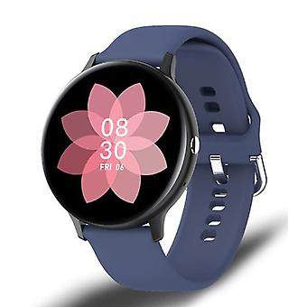Lige Sport Smartwatch - Silicone Strap Fitness Activity Tracker Watch Android - Blue