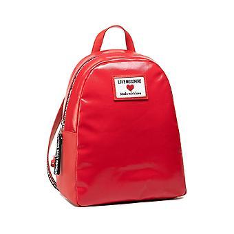 תיק אישה אהבה Moschino תרמיל עור אדום מזויף Bs21mo27 Jc4031