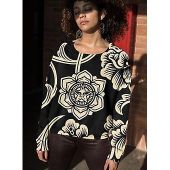 Gothic pattern sublimation sweatshirt