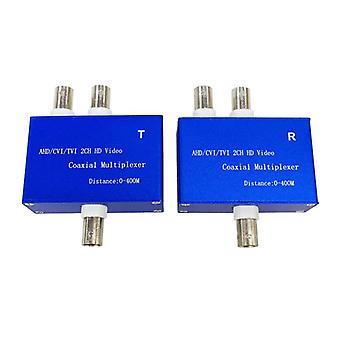 Signaali multiplekseri 2ch lähetin ja vastaanotin