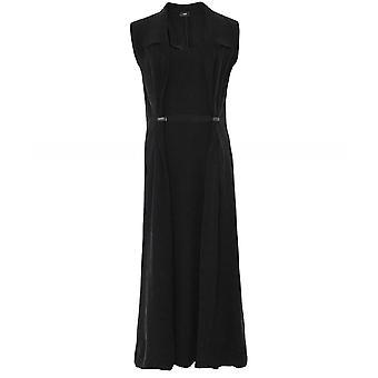 Crea Concept Collared Maxi Dress
