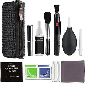 Kit de limpeza do conjunto de escovas de câmera Dslr Lens profissional