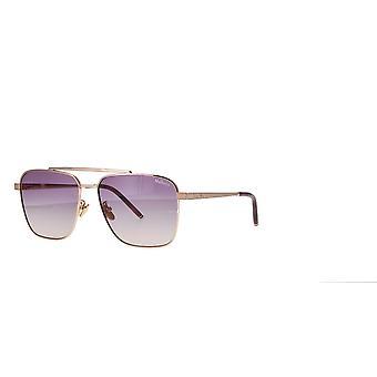 Mulberry SML041 8FCY Copper Gold/Violet Gradient Orange Sunglasses