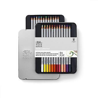 Värikynät Winsor & Newton (24 kpl) (Kunnostettu A)