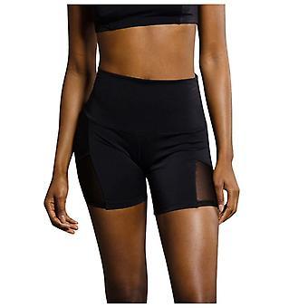High Waist Bikini Solid Black Swimsuit