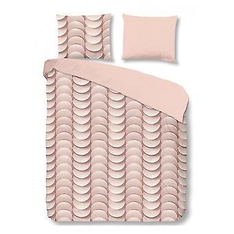 Sängkläder över rosa 240 x 220 cm