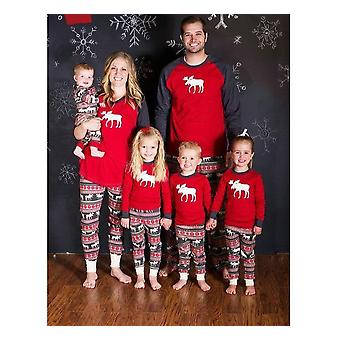 Christmas Pattern Nightwear Set For Adult/kids-family Matching Outfits