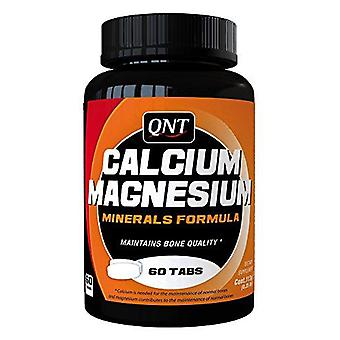QNT Calcium & Magnesium Bone Tooth & Muscle Development Growth Tablets - 60 Caps
