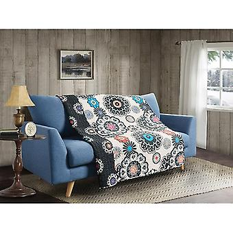 Spura Home Tropical Nadira Quilted Transitional Throw
