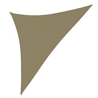 vidaXL voile solaire Tissu d'Oxford Triangle 3x3x4,24 m Beige