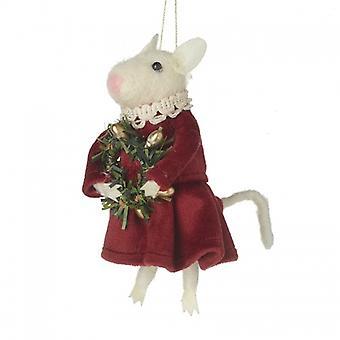 Heaven Sends Mouse Christmas Decoration