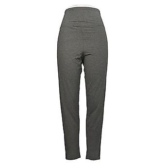 Cuddl Duds Kvinders Leggings Reg Flexwear Polyester Gray A391311