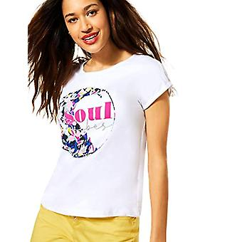 Street One Crista T-Shirt, White, 42 Woman