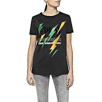 REPLAY W3122c.000.22038p T-Shirt, (Blackboard 99), Medium Woman