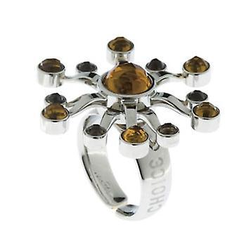 CHOICE JEWELS Mod. SUNSHINE Anello/Ring Mis 8 /Size 8