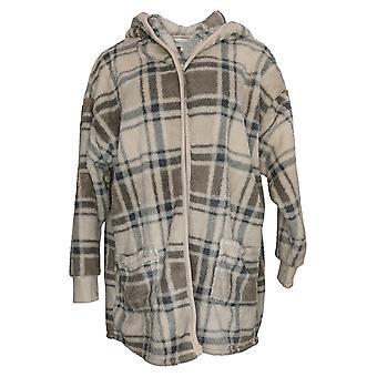 Koolaburra od UGG Damski sweter przytulny kudłaty pluszowy kardigan beżowy A386142