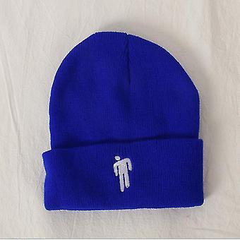 الأزرق مناسبة لفصل الخريف والشتاء محبوك القبعات، والهيب هوب القبعات، والقبعات الصوفية، والرجال الأوروبيين والأمريكيين az4287