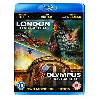 London har fallit & Olympus har fallit blu-ray