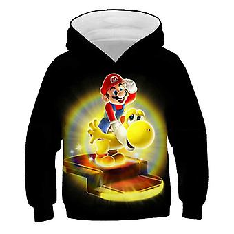 3d Print, Super Mario Cartoon Hooded Sweatshirt For Set-18